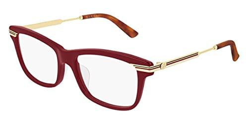 Occhiali da vista Gucci GG0524O Red 54/17/140 donna