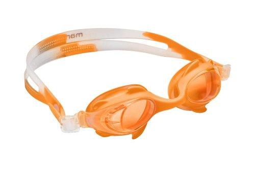 Manta Swim - Occhialini da Nuoto, Colore: Arancione Arancione