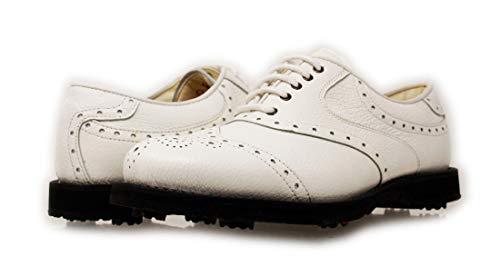 PORTMANN Prime Club Zapatos de golf para hombre | Cuero Premium | Extraligeras y Flexibilidad | Pure Drive Tec., color...
