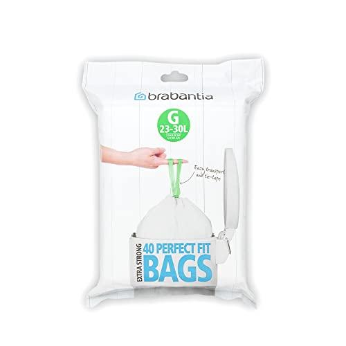 PerfectFit Bags, Code G, 23-30L, 40 Bags