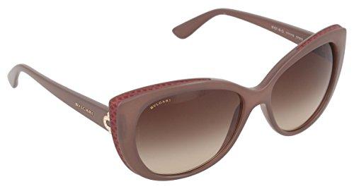 Bulgari Unisex-Erwachsene 8157 Sonnenbrille, Schwarz (Turtledove), 57