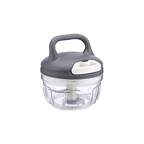 Crusher Trituradora de ajo Multifuncional Mini picadora de Relleno de Bola de Masa Dibujada a Mano, Pimiento picado, artefacto de ajo picado y picado.
