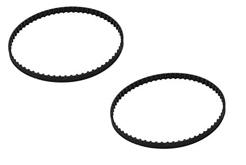 Replacement Parts Two Belts (2) for Shark Cordless Pet Perfect II 18V Vacuum SV780, SV780N, SV780 N14 (SV780N14)