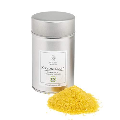 Boomers Gourmet - BIO Sizilianisches Zitronen Salz - Dose - 250 g