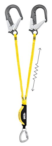 PETZL - ABSORBICA-Y, Double Lanyard with Energy Absorber, International Version, 115 cm