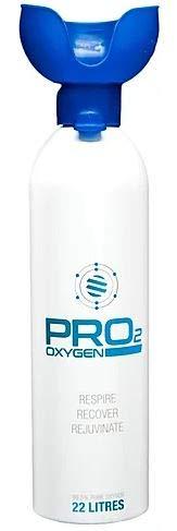 22 Liter Sauerstoff Atemhilfe Flasche PRO2 Oxygen Professional- per Liter 1,41€