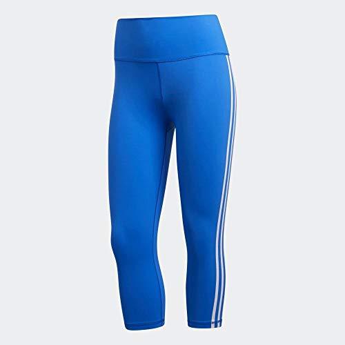 adidas BT 3s 34 T Mallas, Mujer, Glory Blue/White, 2XS