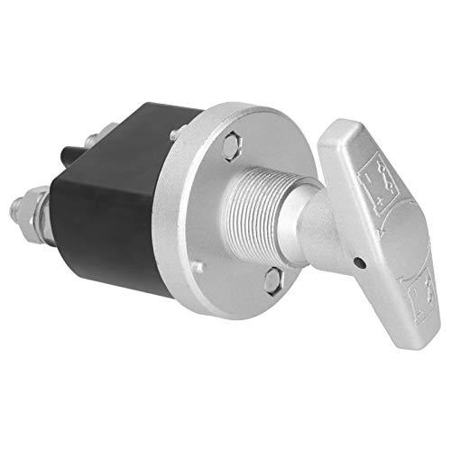 Qinlorgo Interruptor de Corte, ABS fácil de Instalar y desconectador de batería de aleación de Aluminio, para Accesorios electrónicos Suministros industriales Piezas eléctricas Piezas industriales