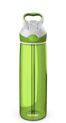 Contigo Addison - Botella de agua con dispositivo antigoteo, color lima, 720 ml
