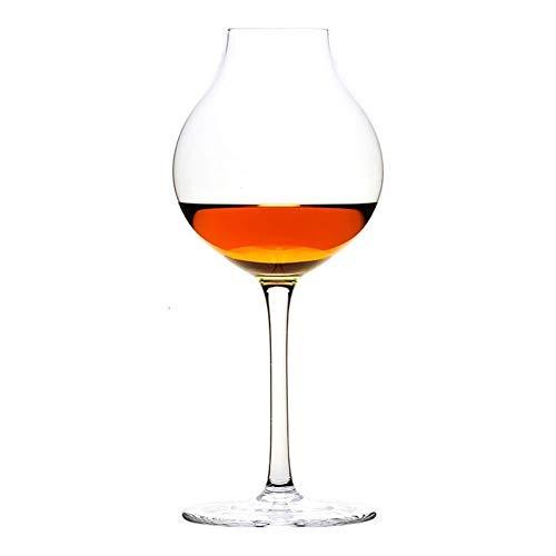 Z-Y Wijnglazen rood Whiskey Glass for Bartender Proever van de Wijn Crystal Octomore Brandy Likeur Whisky Goblet Cup #Z (Capacity : 245ml, Color : 1 Pcs Glass)