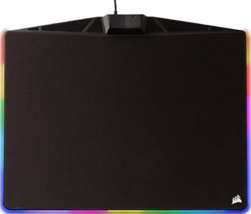 Corsair MM800C RGB Polaris Tapis de Souris Gaming (Moyen, 15 Zones RGB, Tissu) Noir