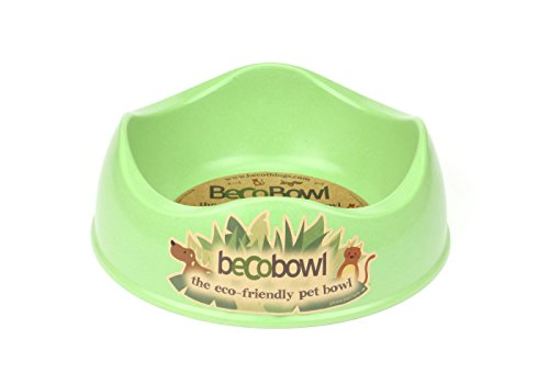 Beco Pets Cuenco de bambú ecológico y Respetuoso con el medioambiente