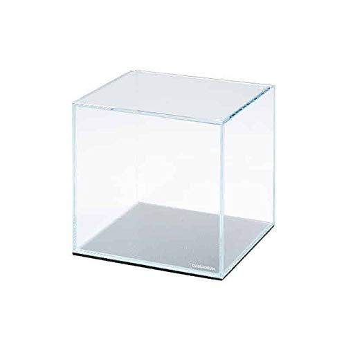 Collar Aquarium 5 l - Weißglas - Nano-Aquarium mit ultra-transparentem Glas - mit Abdeckscheibe und Unterlegmatte