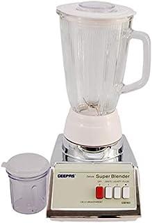 Geepas Gsb1603 2 In 1 Electric Blender (white)