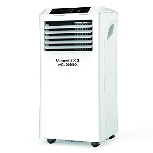 MeacoCool MC10000 Portable Air Conditioner 10000 BTU 3 in 1 Air Conditioning, Air Cooler, Dehumidifier with Fan Function, Remote Control, 24 Hour Timer & Window Venting Kit (10000BTU)