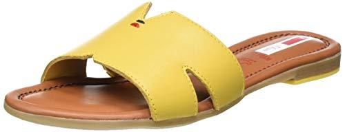s.Oliver Damen 5-5-27114-24 Pantoletten, Gelb (Yellow 600), 38 EU