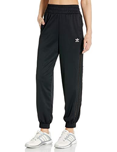 adidas Originals Pantalones de chándal para mujer - Negro - Large