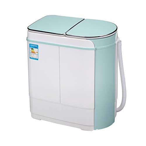 ZRWZZ Fashion Mini Wasmachine Semi-automatische Dubbele Vat Wasmachine Huishoudelijke Kleine Baby Baby Baby Kind Wasmachine
