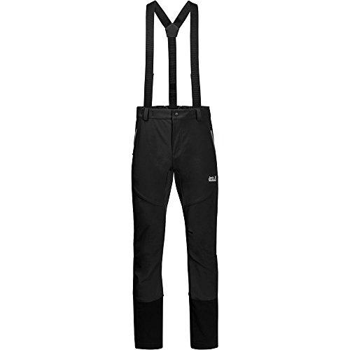 Jack Wolfskin Gravity Tour Pantalon Homme, Black, FR : XL (Taille Fabricant : 56)