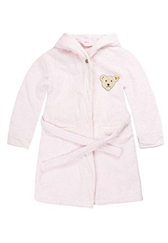 Steiff Unisex - Baby Bademantel 0002907, Rosa (2560 ), 122/128