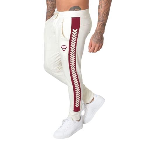 Huntrly Pantalones de chándal cómodos y Ajustados con Cintura elástica con cordón Estampado Personalizado a la Moda para Hombre Pantalones de Gimnasio Holgados y cómodos XL