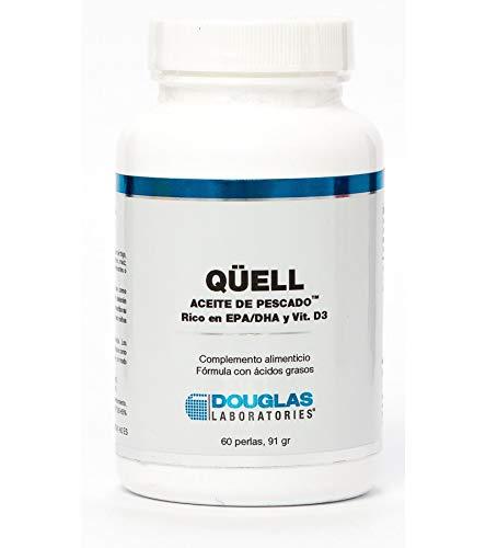 Quell Fish Oil Epa/Dha Plus D 60 perlas de Douglas Laboratories