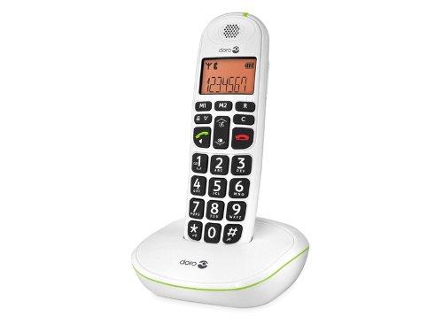Téléphone fixe sans fil Doro PhoneEasy 100w-Blanc / Doro
