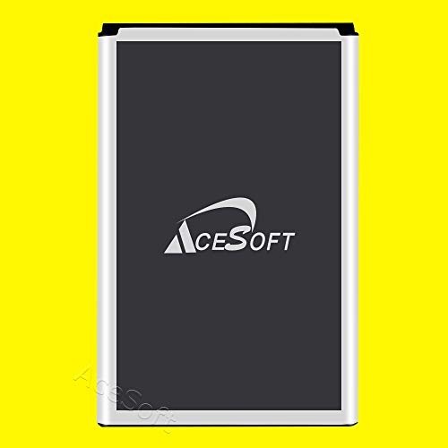High Capacity New AceSoft 4000mAh Rechargeable Li_ion 3.85V Battery for LG G Vista 2 H740 AT&T Smartphone