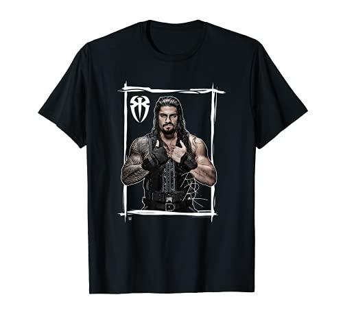 WWE Roman regiert Schwarz Weiß T-Shirt
