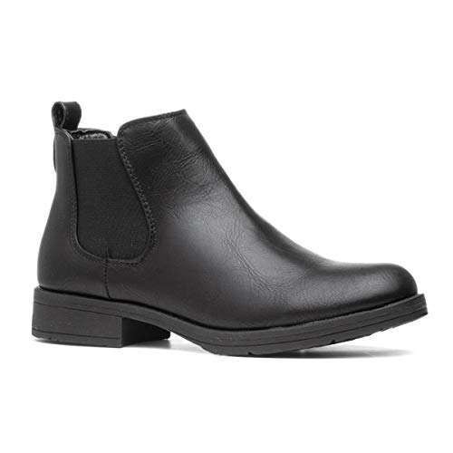 Lilley Womens Black Chelsea Pull On Boot - Size 6 UK - Black