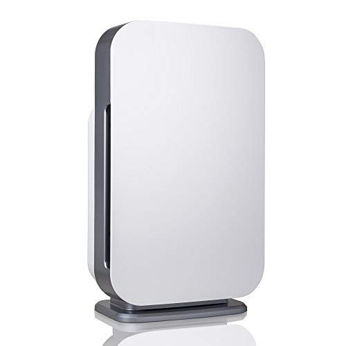 Alen BreatheSmart FLEX Air Purifier, Medical Grade Filtration H13 True HEPA for 700 Sqft, 99.99% Airborne Particle Removal, Captures Allergens, Bacteria, Germs, Mold, Odors from Smoke, in White