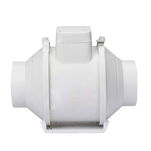 LXZDZ Tubo de ventilación de pared Ventilador de inodoro de cocina Ventilador silencioso Extractor de baño Ventilador de ventilación de aire