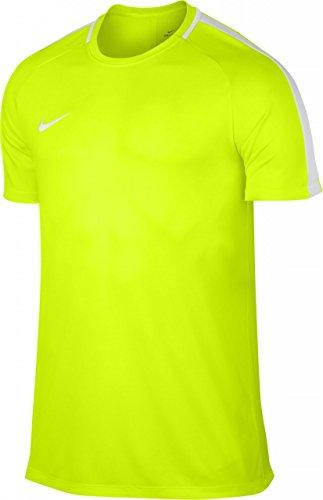 Nike M Nk Dry Acdmy Ss T-Shirt, Herren, Gelb (Volt gelb/Weiß), S