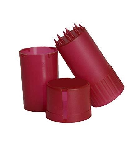 Imagen del producto Carrisar Grinder de Plástico con Contenedor Almacenamiento, Trituradora Hierbas y Tabaco