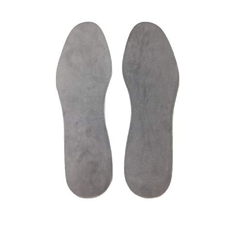 Ducomi SolMax Einlegesohlen, für Damen und Kinder, stoßdämpfend, atmungsaktiv, Comfort Einlegesohlen, für Fuß- und Fußmassage Velluto