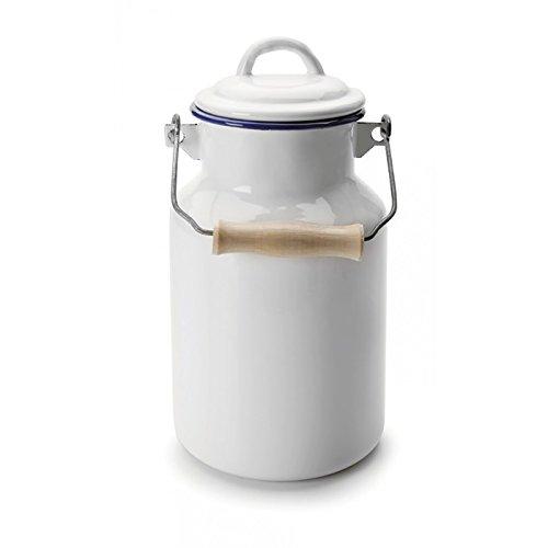 IBILI Milk Churn, Blanco/Azul, 1L