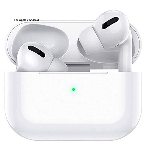 Wireless Earbuds Bluetooth Headphones with Charging Case IPX5 Waterproof Sports Headphones with Built-in Mic, Touch Control Bluetooth Earbuds Suitable for Apple Airpods Pro/iPhone/Android