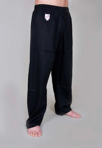 Orkansports Kick Pants Karate Hose schwarz 8oz