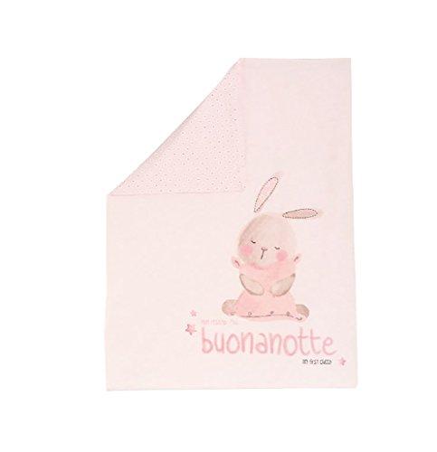 Chicco - Manta para capazo, bebé (rosa).
