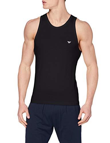 Emporio Armani Underwear Herren 110828CC735 Unterhemd, Schwarz (Nero 00020), Large