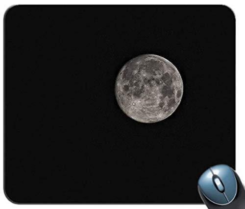 Schwarz und Weiß HD Wallpaper Luna Moon 529 Gaming Mouse Pad Mousepad Mat