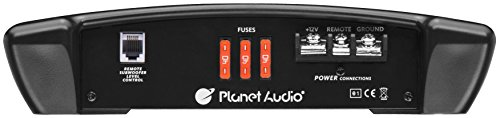Planet Audio TR4000.1D Class D Car Amplifier - 4000 Watts, 1 Ohm Stable, Digital, Monoblock, Mosfet Power Supply, Great for Subwoofers