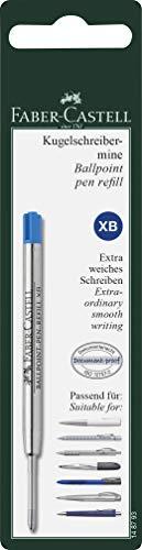 Faber-Castell 148793 Kugelschreibermine, Mine XB, blau