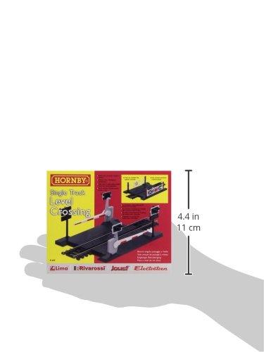 Hornby R645 00 Gauge Level Crossing Single Track