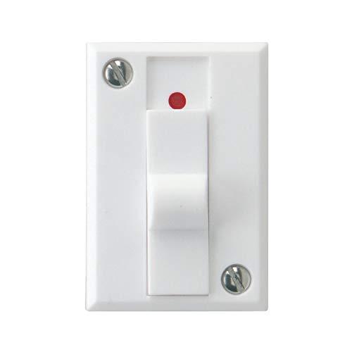 REV 0504240555 Schalter, Klingelausschalter, max.12V AC 1,5A, (hinterTrafos), weiss