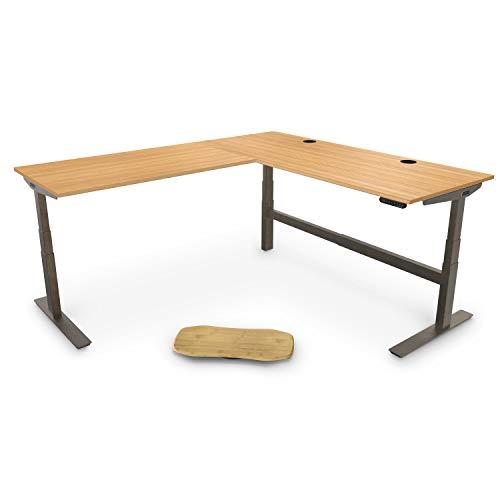 UPLIFT Desk - V2 Bamboo Standing Desktop Standing ...