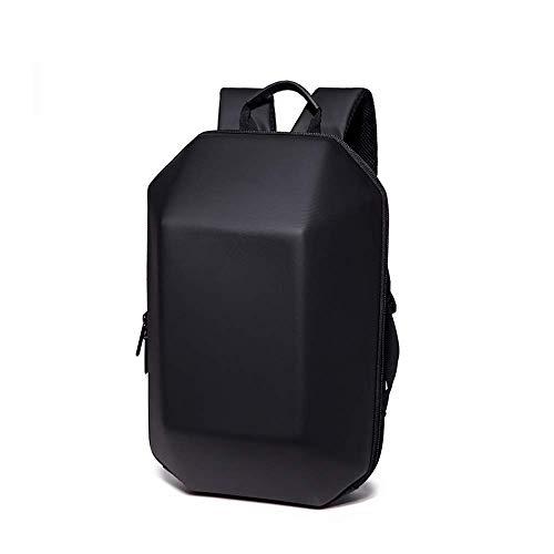 Xjdmg Universal-Rucksack-Rucksack, wasserdicht mit hohen Kapazität ABS-Material Travel Rucksack, stereotyper kreative Persönlichkeit beiläufige Art und Weise Computer-Rucksack, Schwarz, 43 * 18 * 27cm