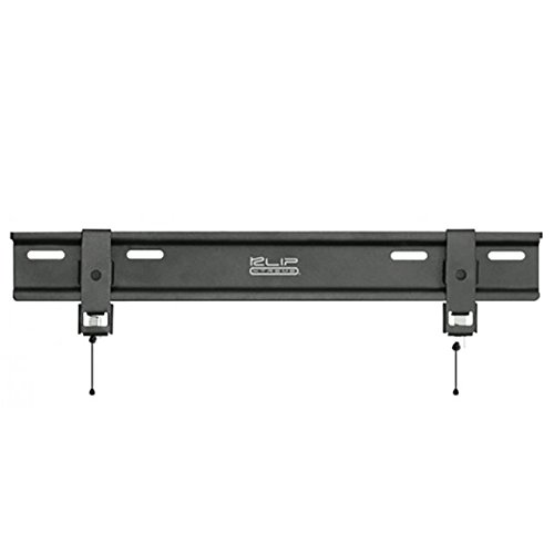 Klip Xtreme UltraSlim TV Wall Mount- Fixed Mount for Flat Screens 23 inch to 46 inch LED/LCD or Plasma- 90Lbs Capacity- Less Than 1 inch Wall Space Design- VESA 400x400 Max