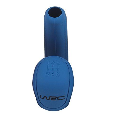 Auto Handbremse Abdeckungen Handbremse Griffe Schalthebel Ketten Autos Zubehör Silikon (blau)