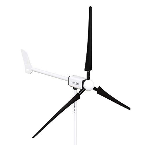 TESUP Zeus3.0 Windturbine Kit – Gemaakt in Europa // ZEUS3.0 + CC-12 + MP